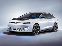 Volkswagen uvádí nový elektrický model Space Vizzion. Budoucnost přichází.