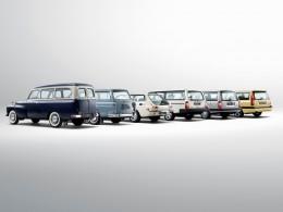 Volvo vyrábí již 60 let vozy kombi