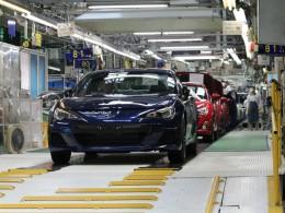 Výroba Subaru BRZ a Toyoty GT86 spuštěna