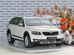 Vyrobena miliontá Škoda Octavia třetí generace
