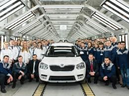 Zahájení výroby nového provedení modelu Škoda Yeti v Rusku