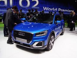 Ženevský autosalon 2016 živě - Audi Q2 je autem do města