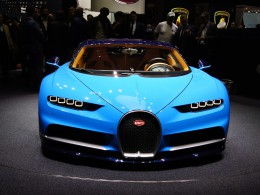 Ženevský autosalon 2016 živě - Bugatti Chiron má 1500 koní