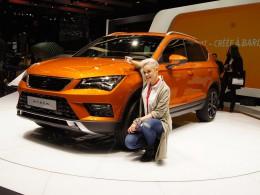 Ženevský autosalon 2016 živě - Seat Ateca je prvním SUV španělské automobilky