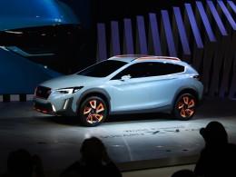 �enevsk� autosalon 2016 �iv� - Subaru XV ji� koncem p��t�ho roku