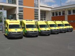 Zlínská záchranná služba má šest nových Transportérů