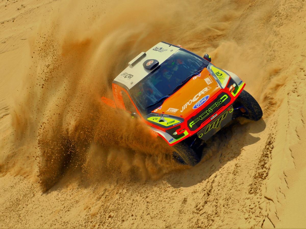 Martin Prokop s Fordem Raptor vyráží na svou pátou Rally Dakar