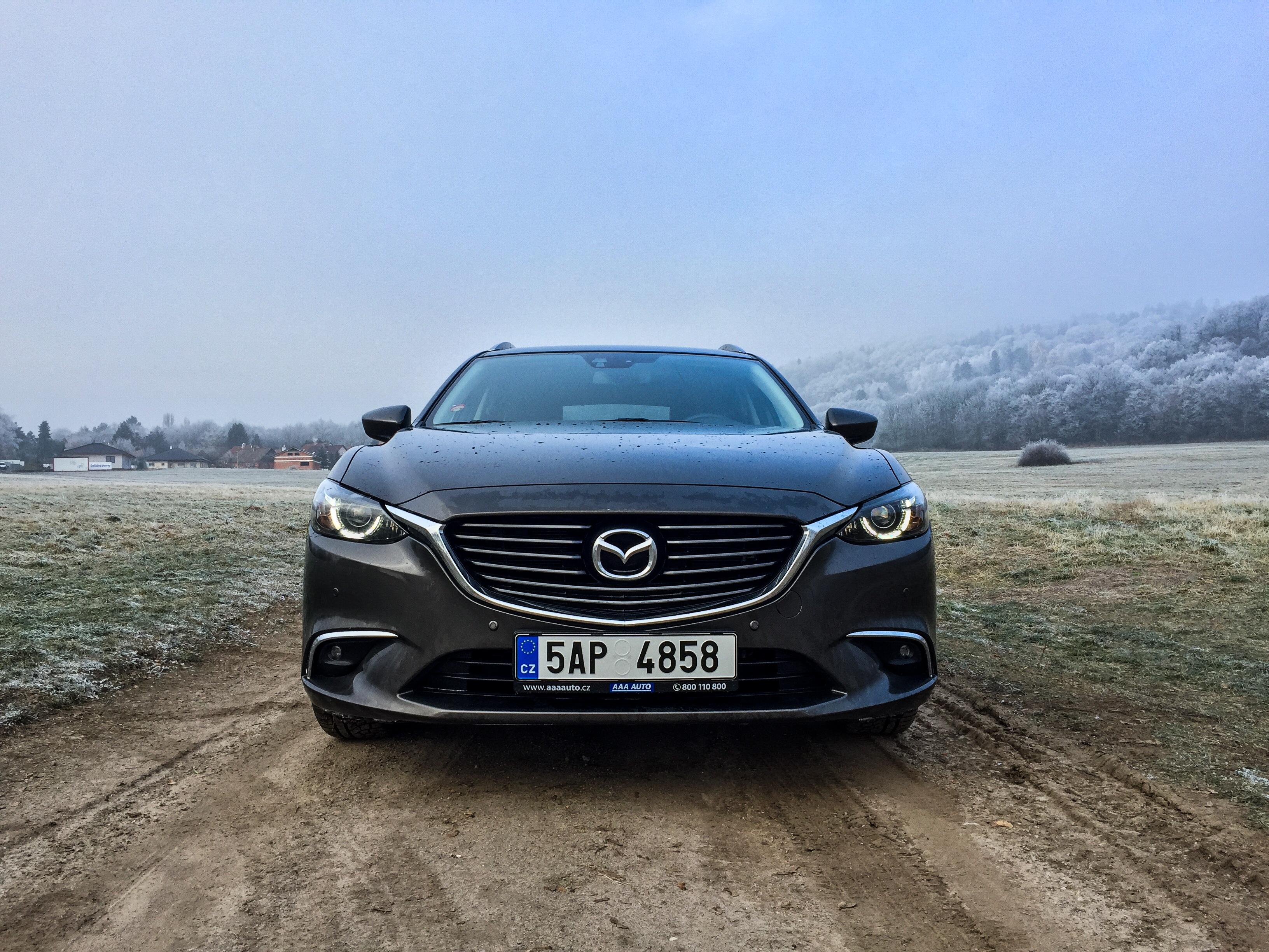 Test ojetiny: Mazda 6 Wagon 2.0 Skyactiv-G - budoucí minulost
