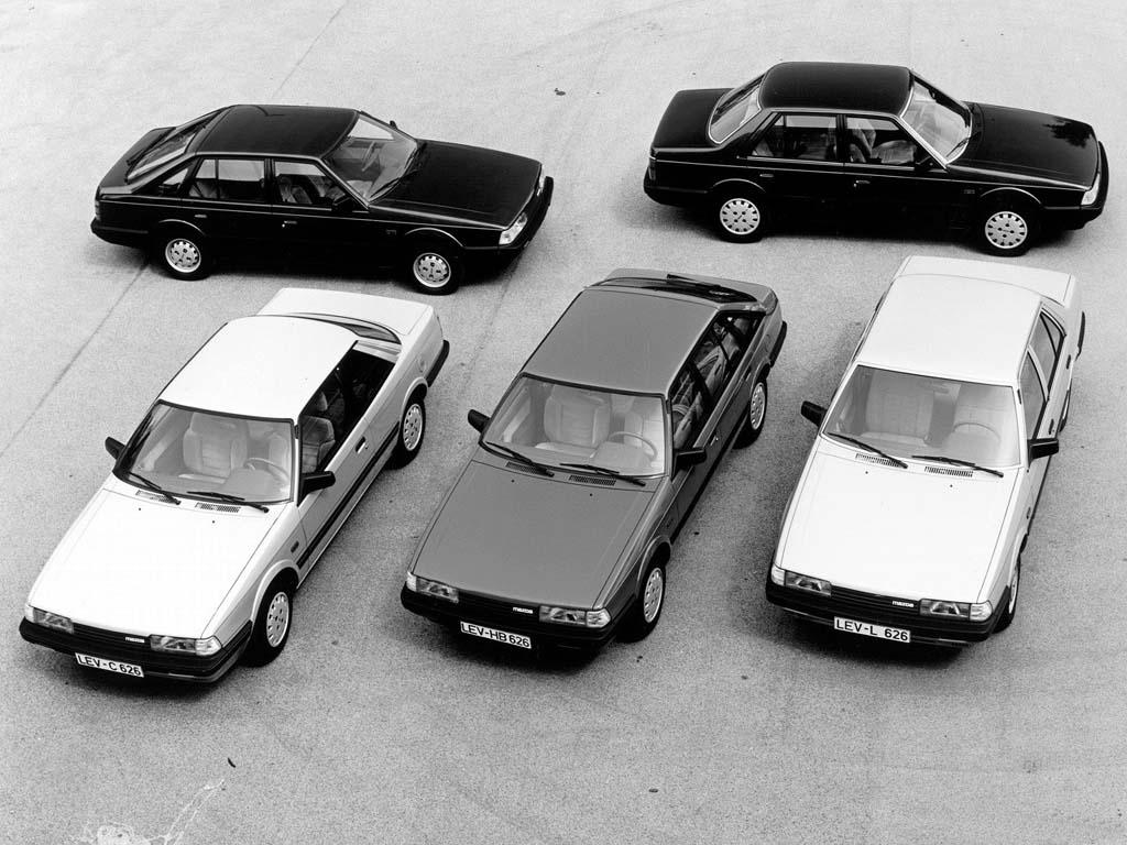 Mazda v Evropě. 1. díl: 1967 – 1998