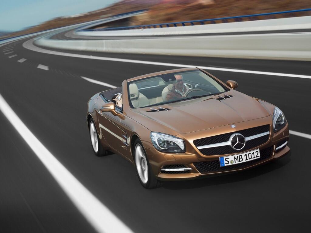 Nový Mercedes-Benz SL- připravte se na jaro
