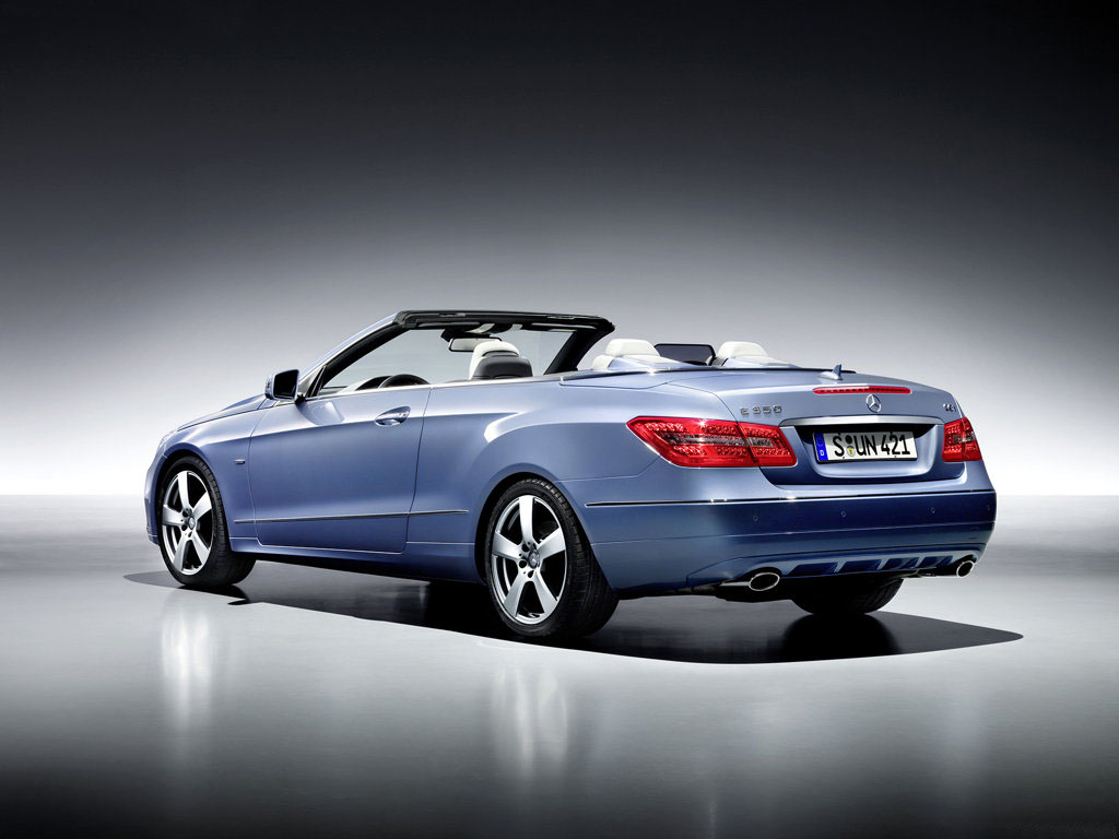 Mercedes-Benz třídy E i jako kabriolet