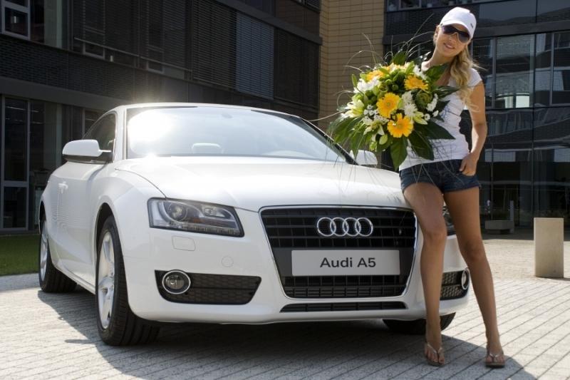Michaela Ochotská se rozhodla pro Audi A5 Coupé