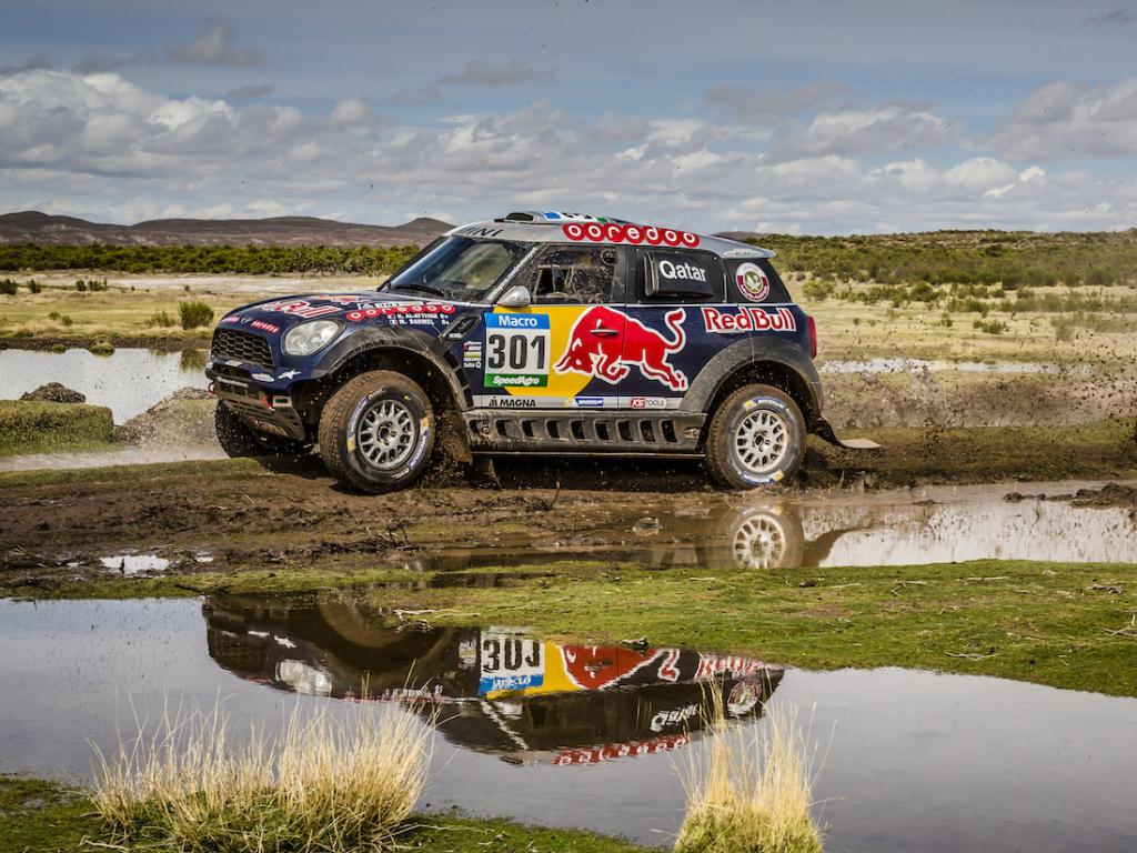 MINI oslavilo čtvrté vítězství v Rally Dakar 2015