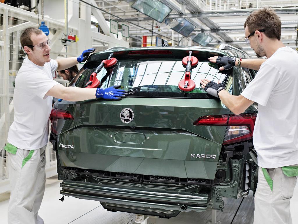 Mladoboleslavská Škoda vyrobila milionté SUV
