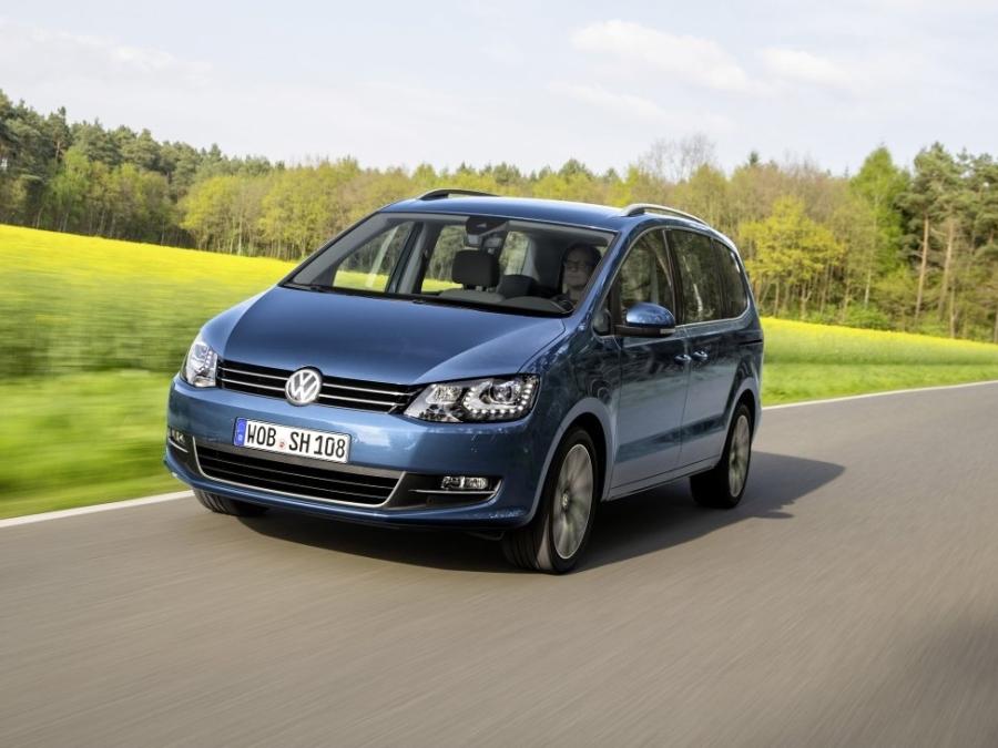 Modernizovaný Volkswagen Sharan dostal nové motory a řadu vylepšení