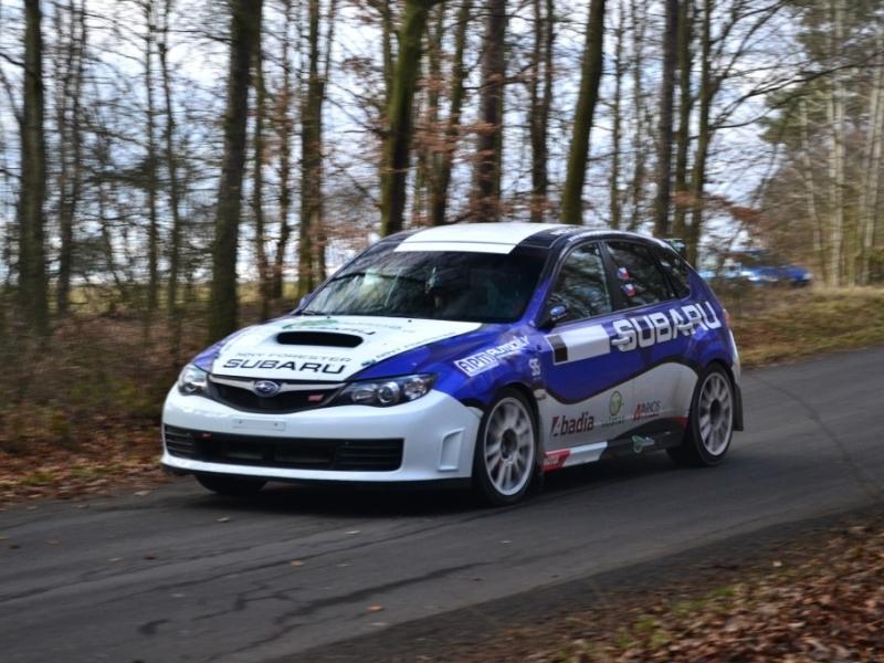 Na Jänner Rallye pojede se Subaru posádka Černý-Kohout