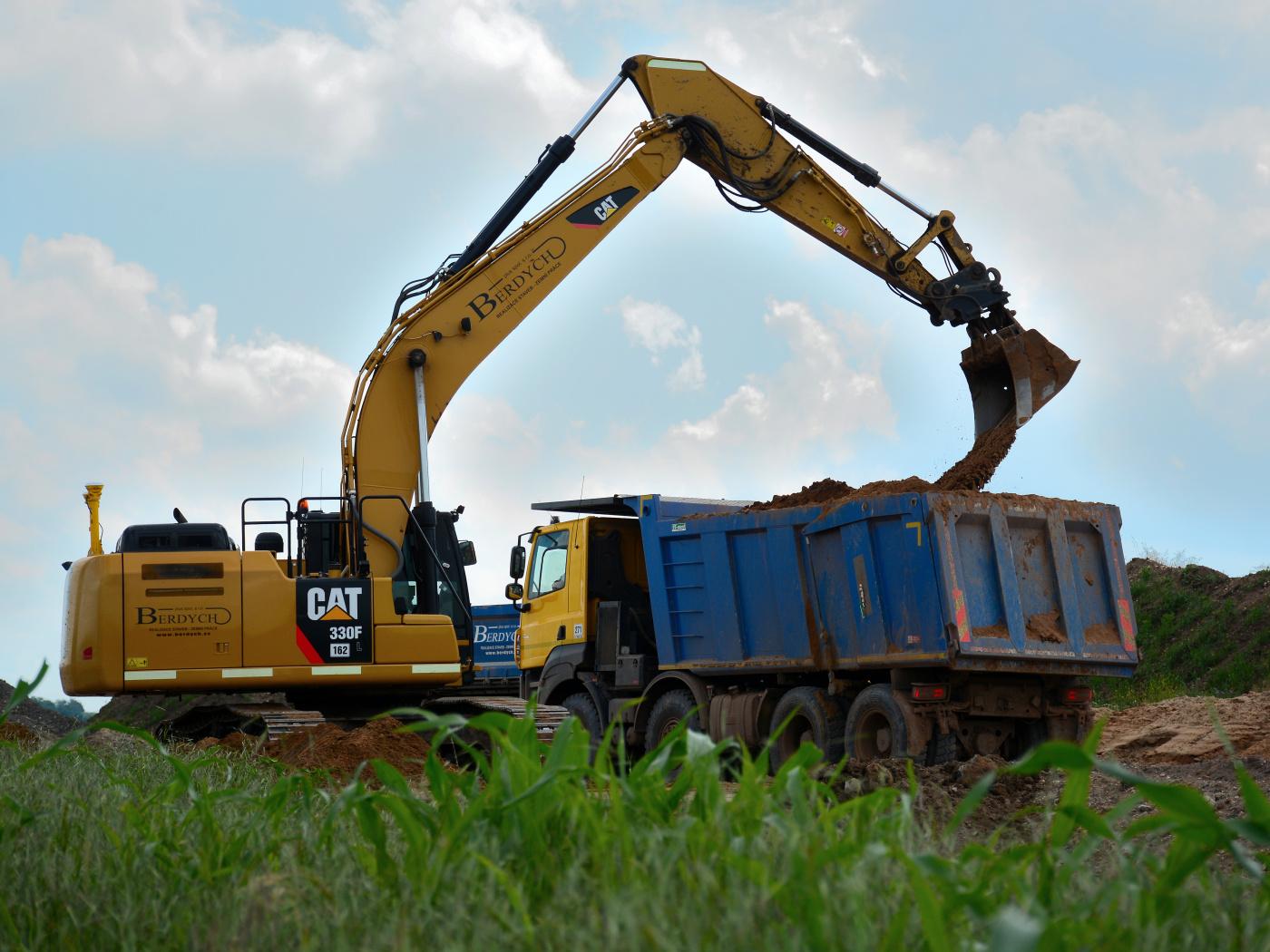 Na jih rychleji, začala stavba obchvatu Olbramovic, hotovo bude v roce 2023