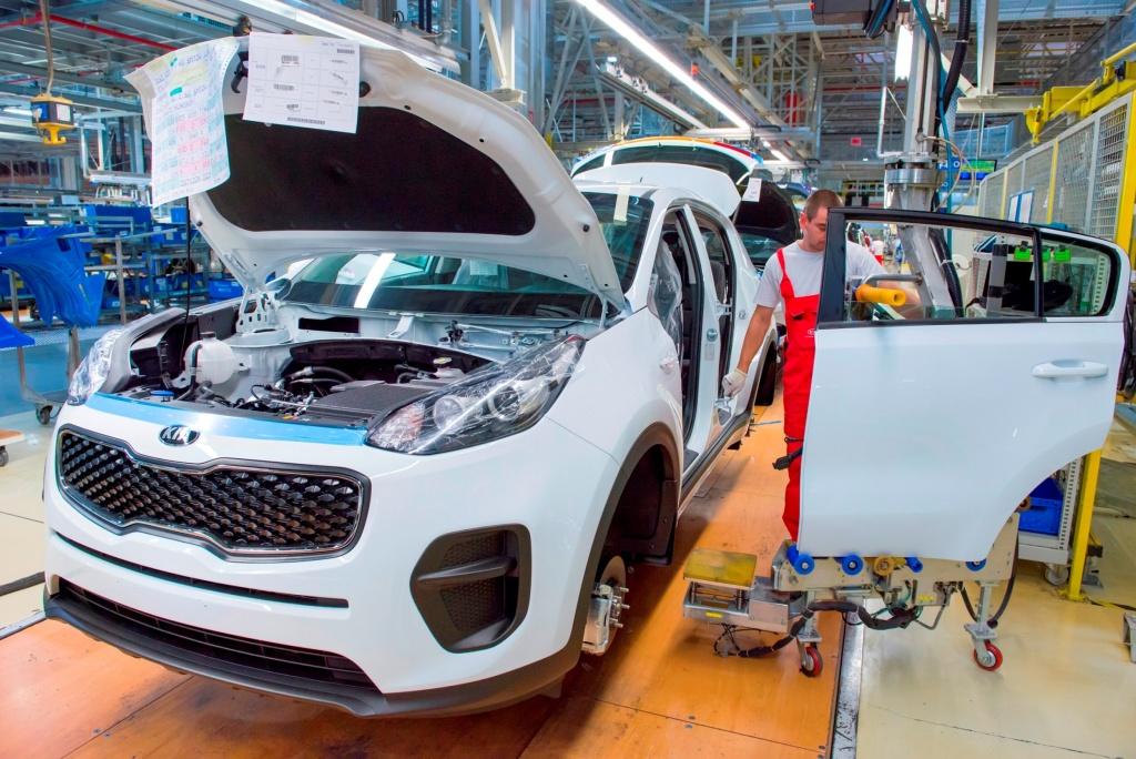 nová KIA Sportage - výroba