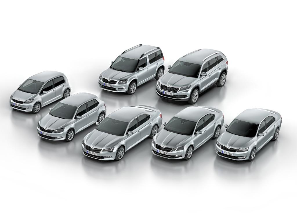 Nejprodávanější modely: Škoda Octavia, Fabia, Rapid a Superb