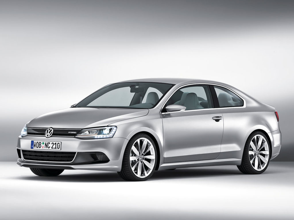 New Compact Coupe: Hybrid podle Volkswagenu