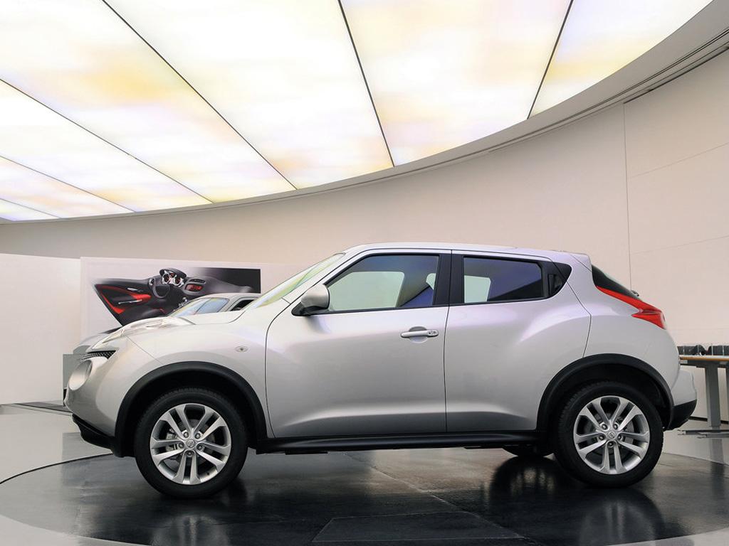 Перламутровый белый Juke Nissan.