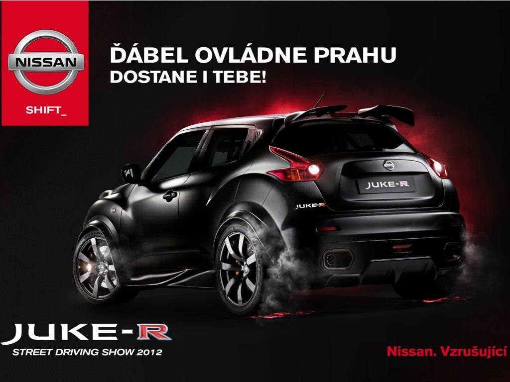 Nissan Juke-R bude k vidění v Praze