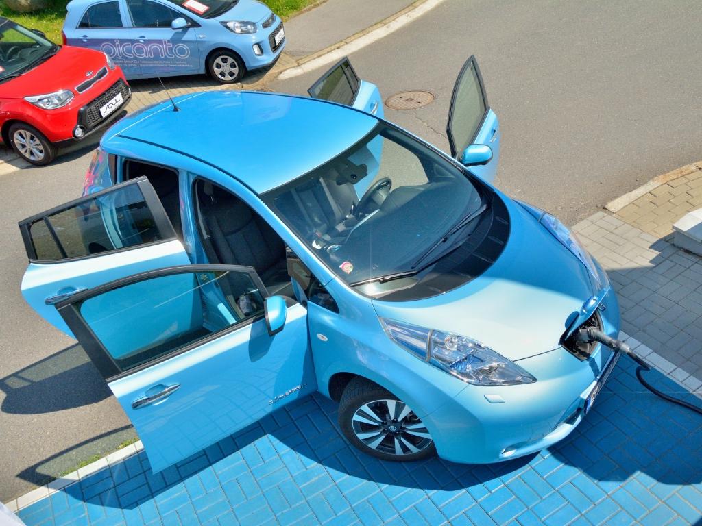Nissan Leaf rekord
