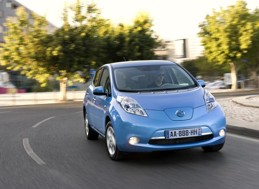 Nissan Leaf jde v Norsku na dračku