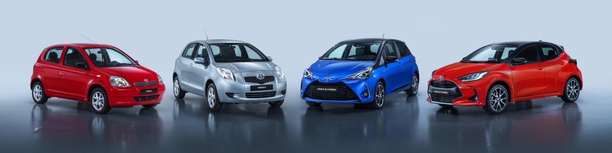 Toyota Yaris - generace