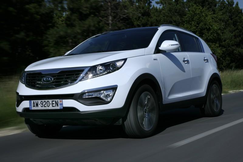Nová Kia Sportage - nejbezpečnější SUV