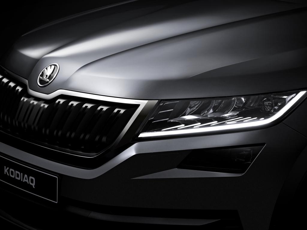 Nová Škoda Kodiaq - oficiální fotografie detailů a nové informace