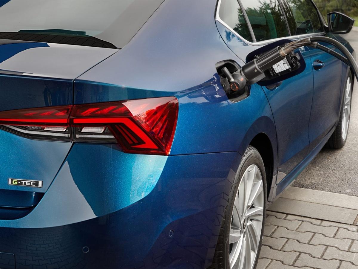 Škoda Octavia G-TEC s motorem 1,5 TSI dojede na plyn až 500 km