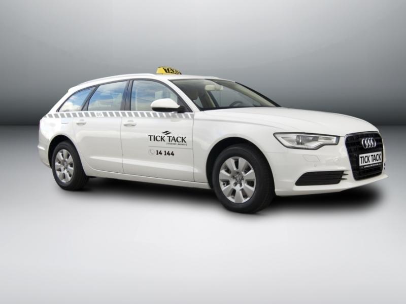 Nová taxislužba kupuje 150 vozů Audi A6