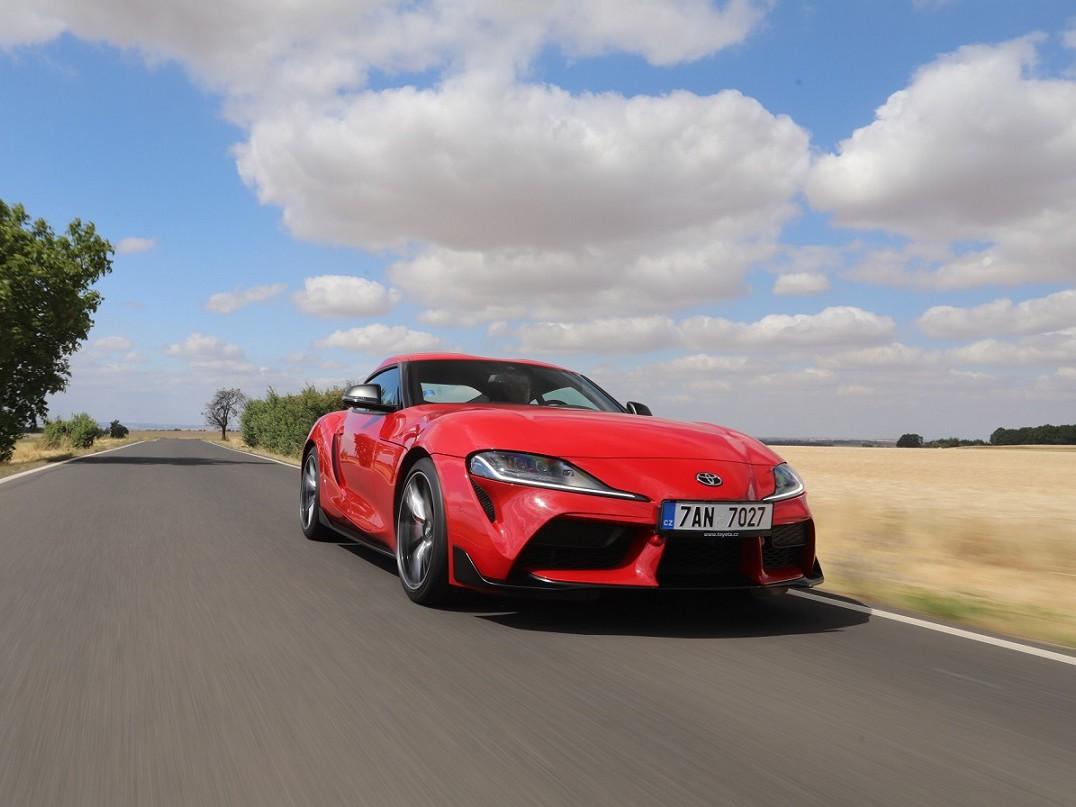 Nová Toyota GR Supra získala prestižní cenu Golden Steering Wheel