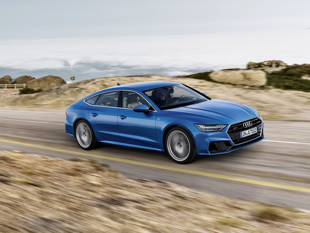 Nové Audi A7 Sportback je hranatější a zatím bez dieselu