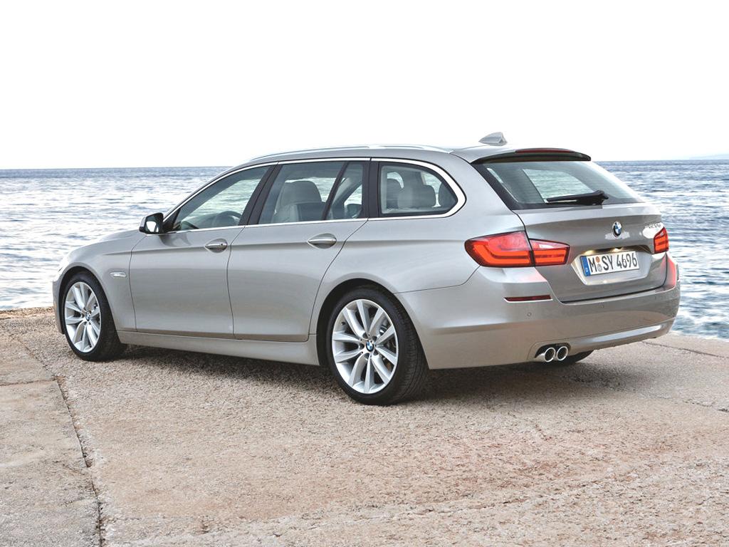 Nové BMW 5 Touring: Další krasavec se špičkovou technikou