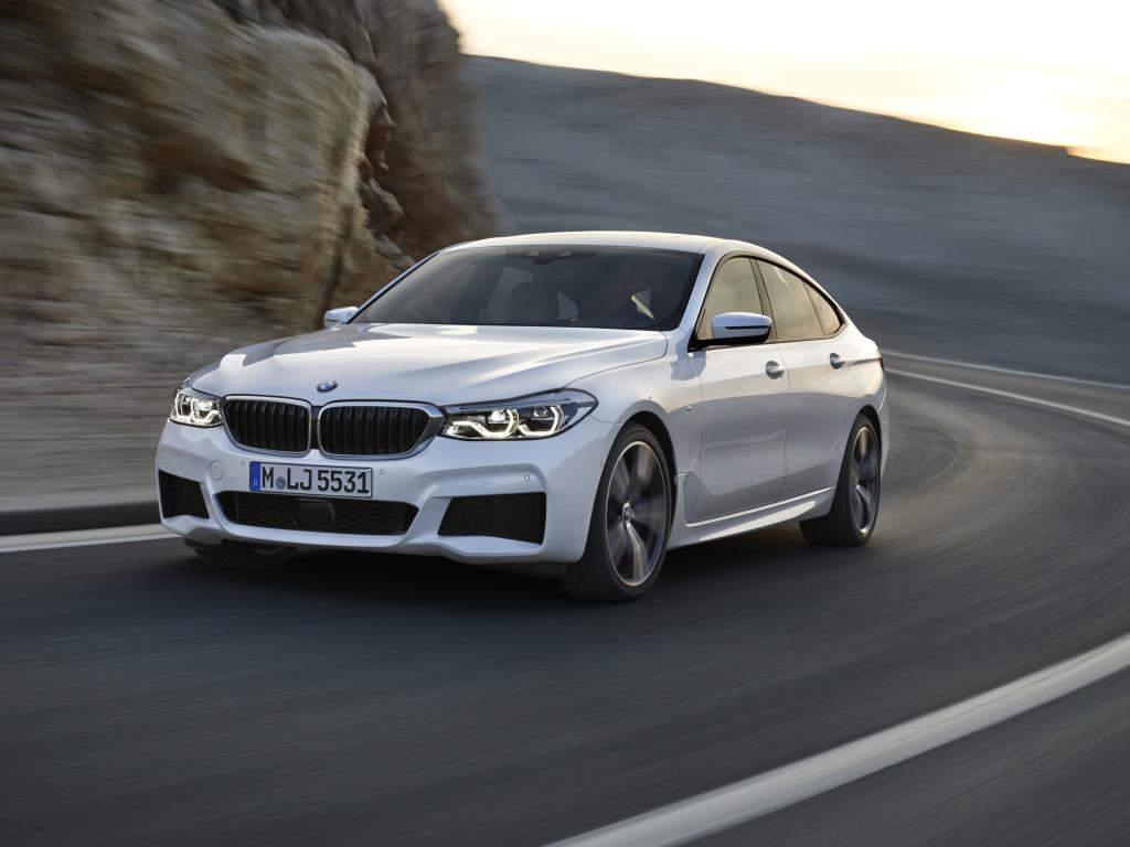 Nástupce BMW 5 GT je tady, je to model 6 Gran Turismo