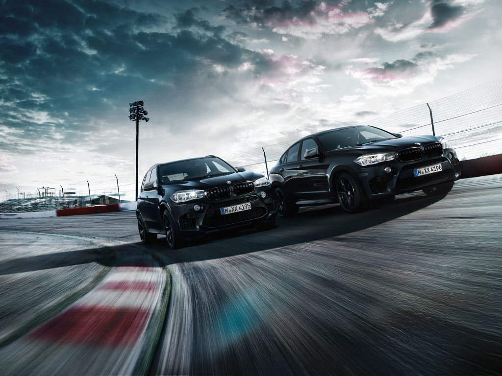 Všechno černé - to jsou nové edice Black Fire určené pro BMW X5 M a X6 M