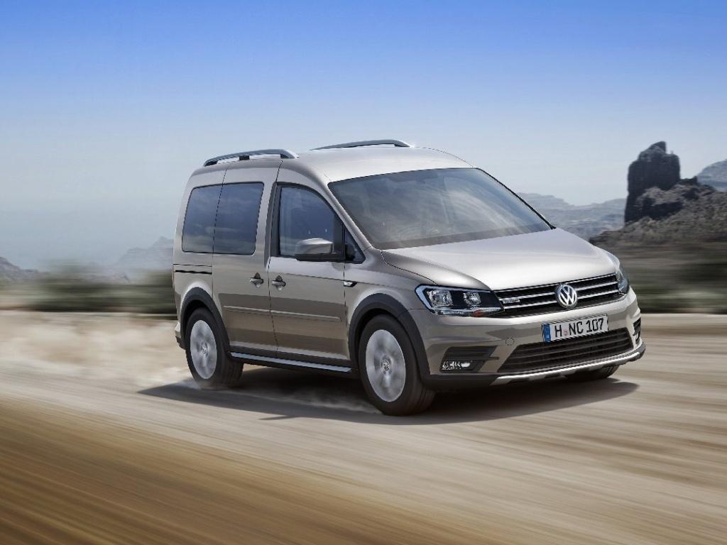 Volkswagen Caddy nově ve verzi Alltrack v offroadovém designu