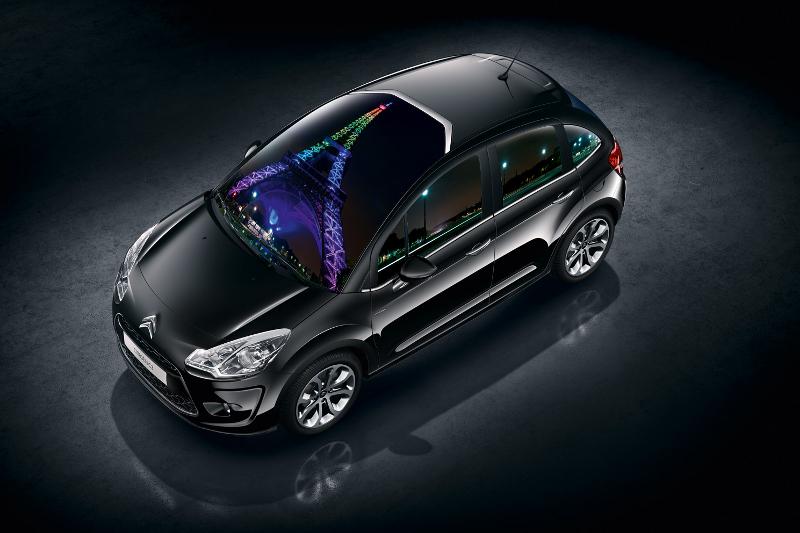 Nový Citroën C3 a Eiffelovka zvou svět na show kreativní technologie
