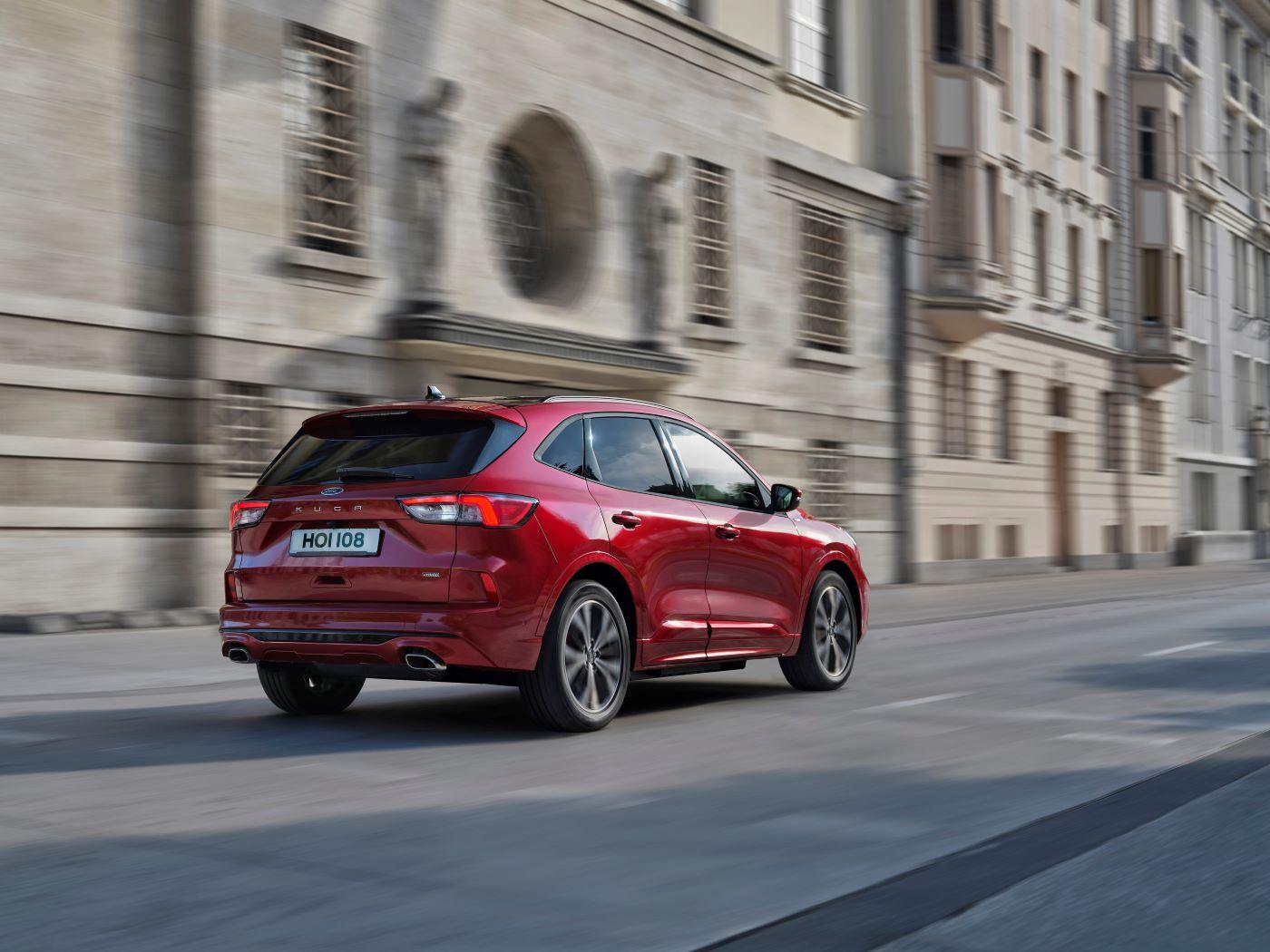 Nový Ford Kuga v Česku, půl milionu rozhodně nestačí