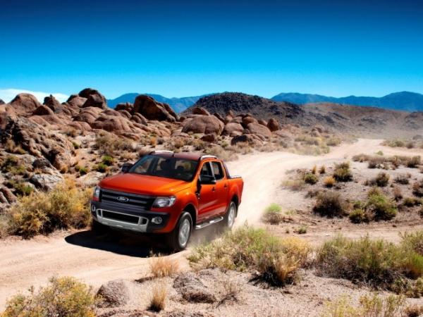 Nový Ford Ranger nejlepším pick-upem roku