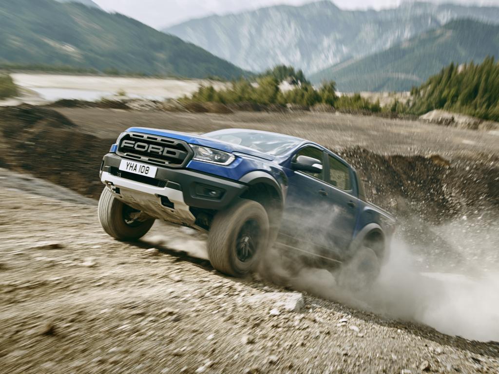 720cb5f23 Nový Ford Ranger Raptor je nekompromisní pick-up
