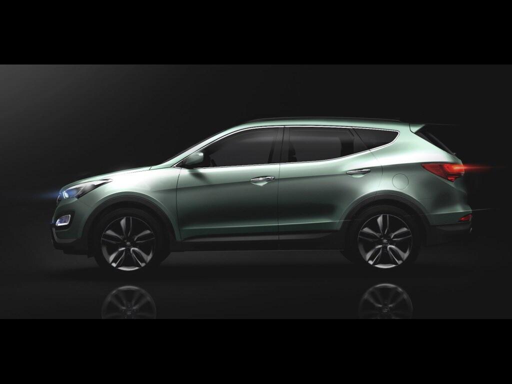 Hyundai Santa Fe 2013 odhalen na prvních fotografiích