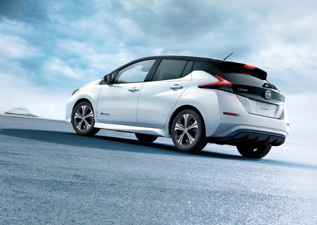 Nový Nissan Leaf se chlubí dojezdem až 378 km na jedno nabití