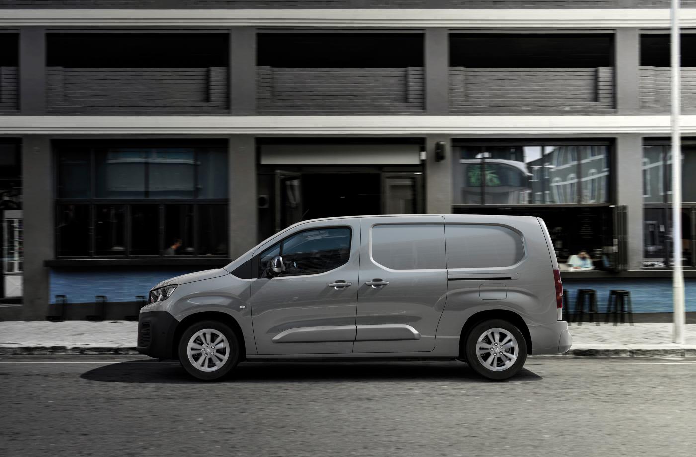 eletric Peugeot e-Partner