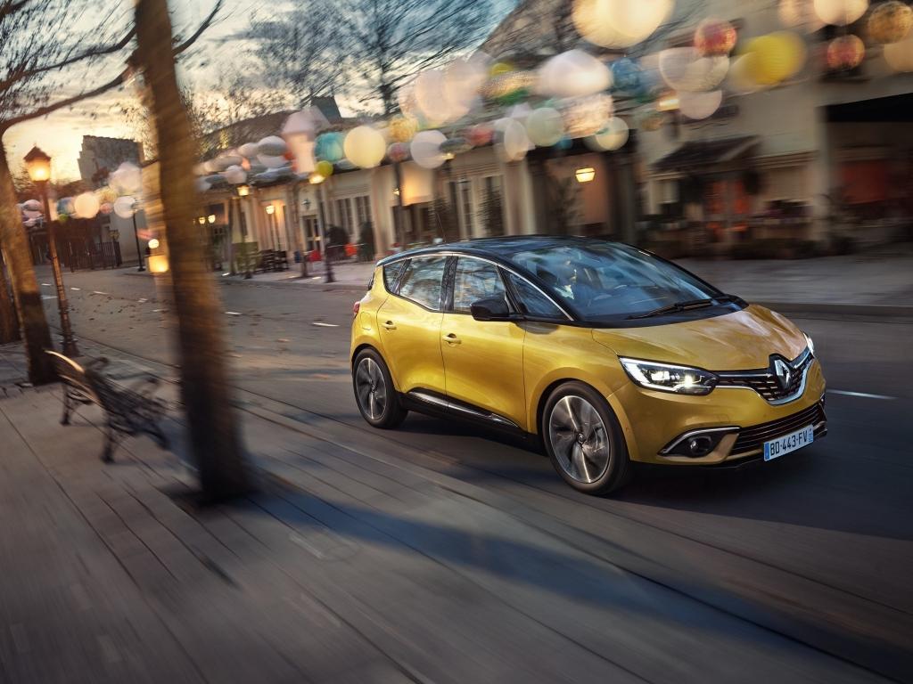 Nový Renault Scénic a Grand Scénic má standardně dvacetipalcová kola