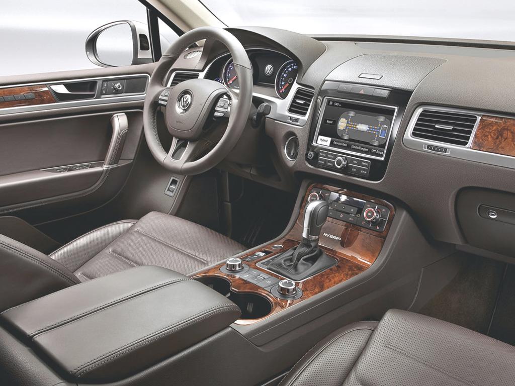 Volkswagen показал новый Touareg…