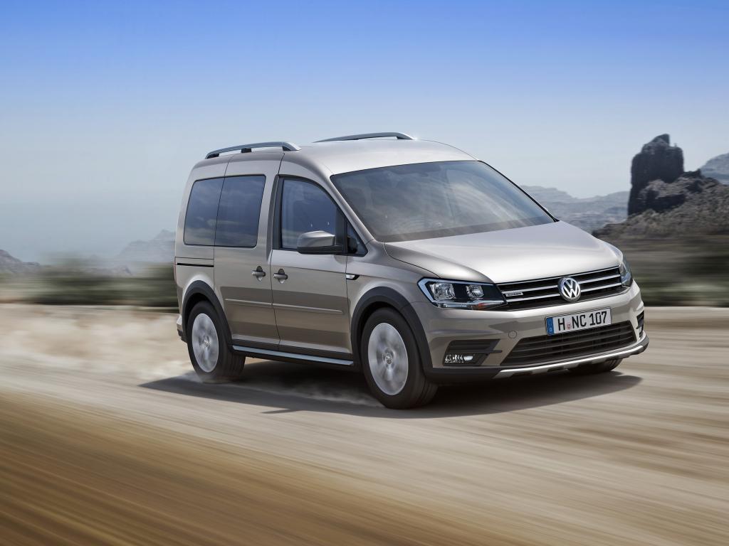 Nový Volkswagen Caddy Alltrack v Česku