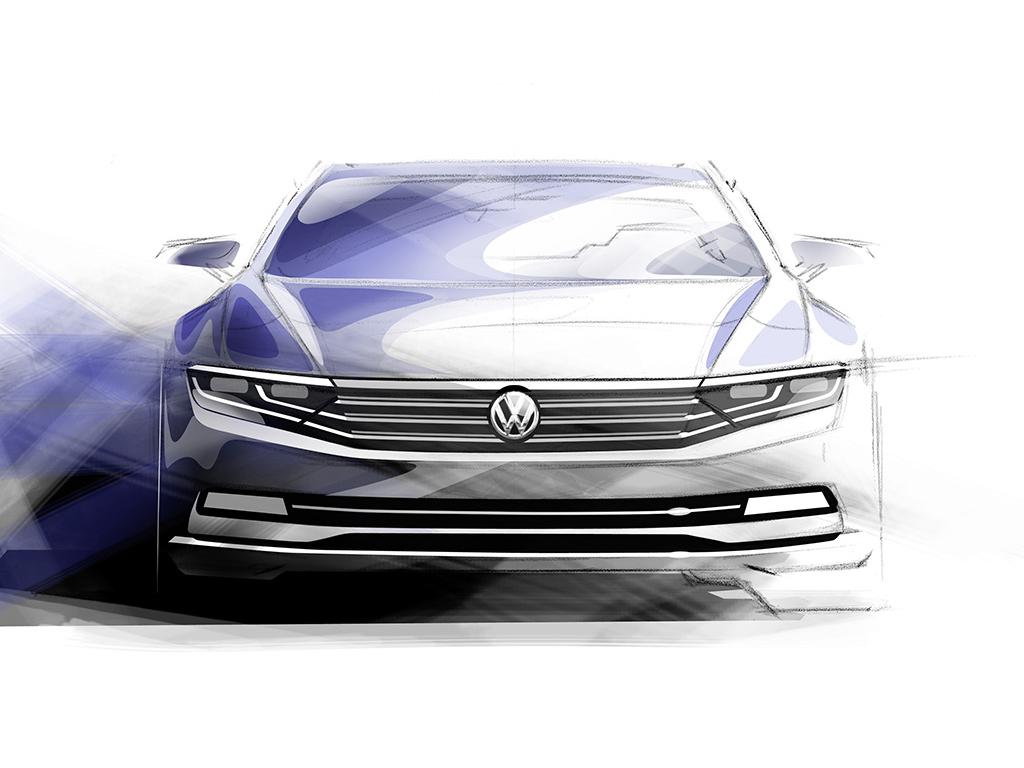 Nový Volkswagen Passat B8 bude lehčí